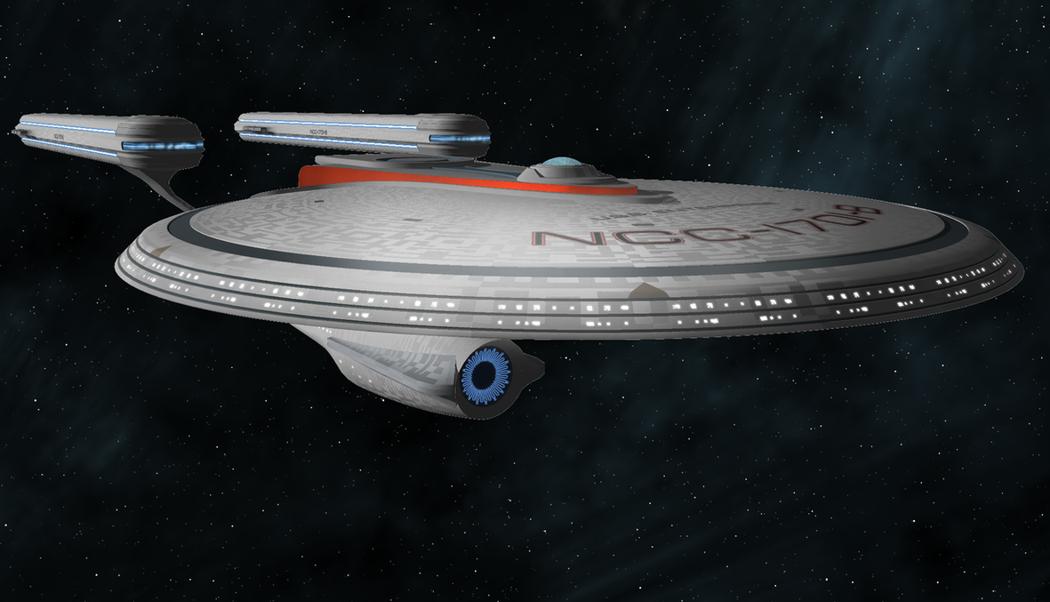 USS Enterprise NCC-1701-B by Terranimperial