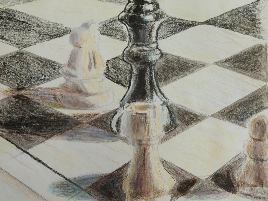 Chess pieces by Terranimperial