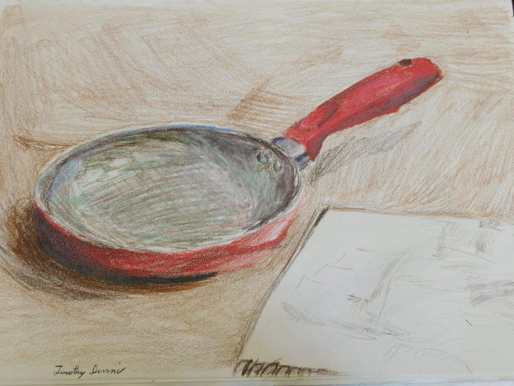 Frying Pan by Terranimperial