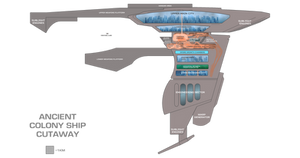 Ancient Colony Ship schematic