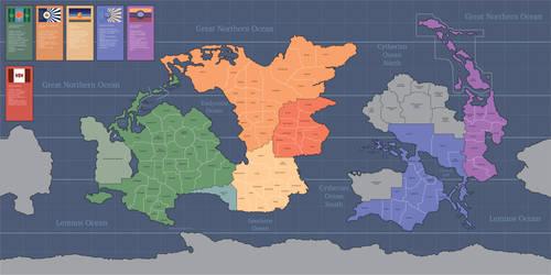Profundity Political Map