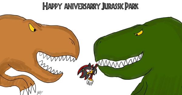Jurassic Park 14th by HateShadowClub
