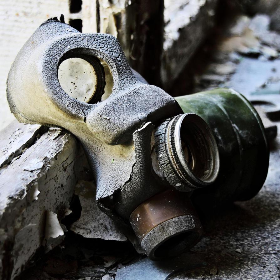 gas mask by Skanatiker