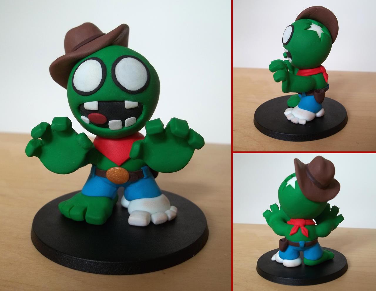 Zombie Cowboy by Alistu