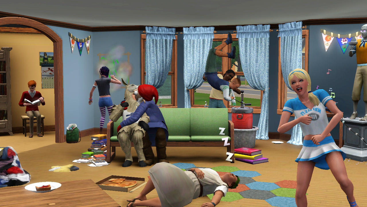 the sims 3 university dating