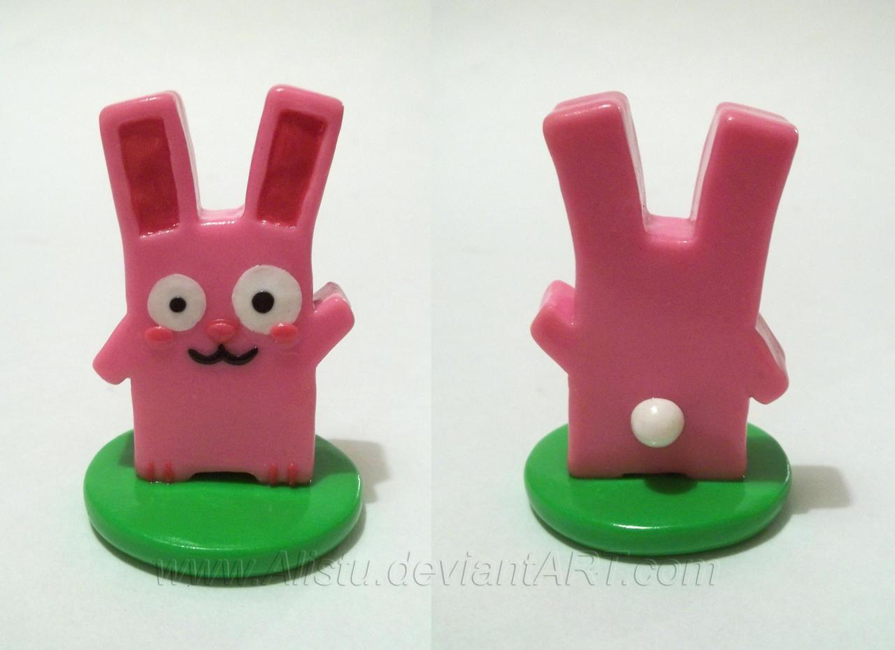 Freezer Bunny Figure