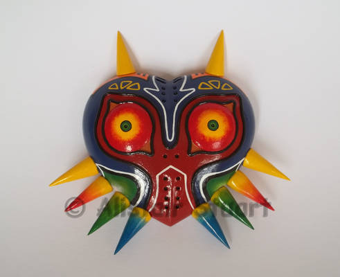 Majora's Mask Paperweight +Commission+