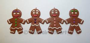 FIMO Gingerbread People