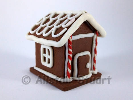 Fimo Gingerbread House