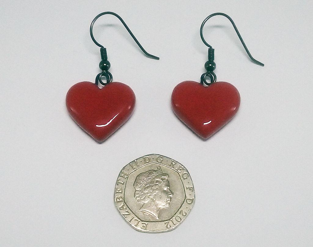 Heart Earrings +commission+
