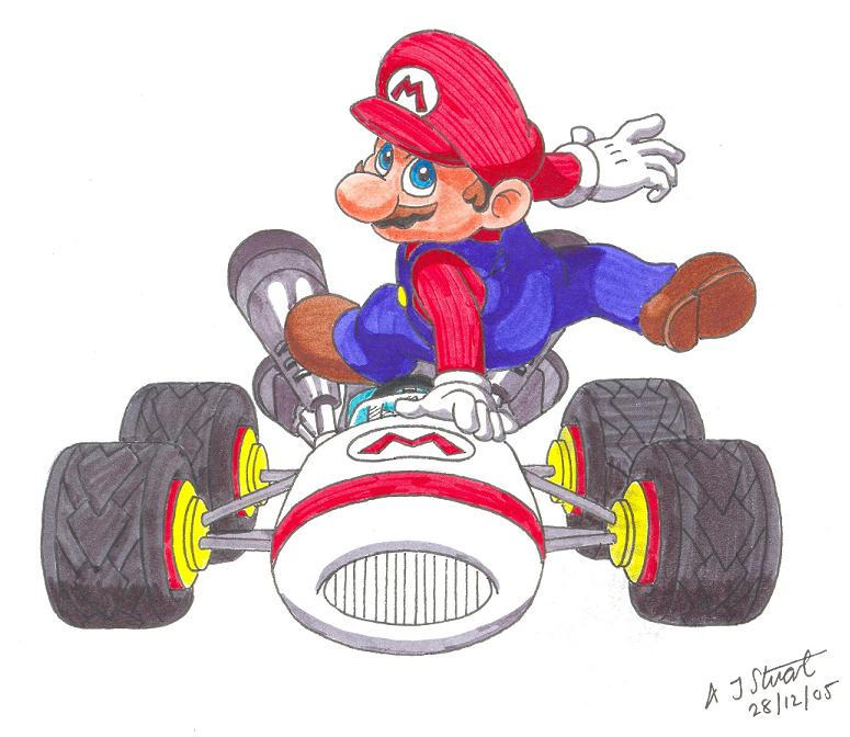 One Man And His Kart by Alistu