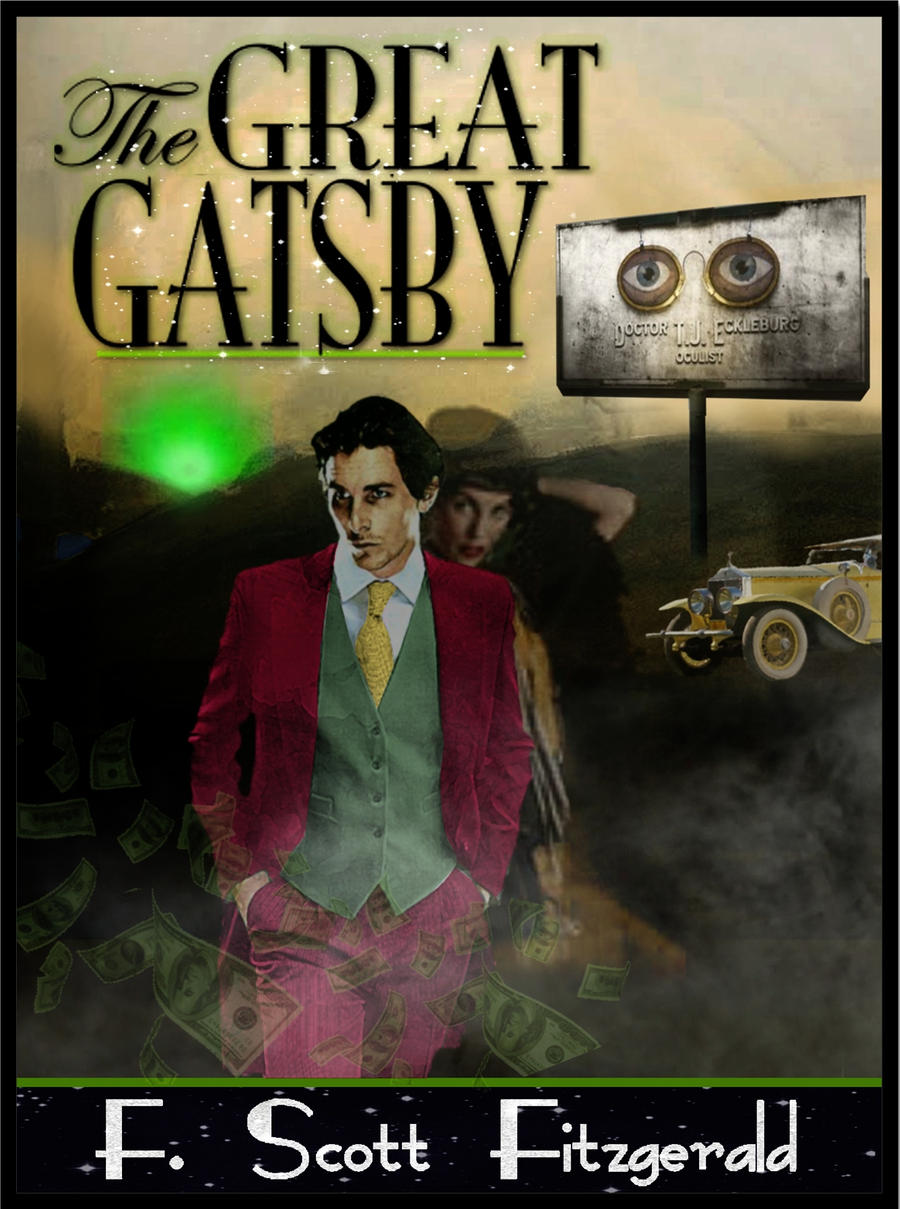 Great Book Cover Art : The great gatsby cover by lazedward on deviantart
