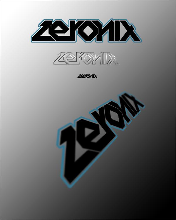 Logo tryout by ZeroniX-Designs
