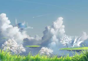 Cloud city by faliessDragon