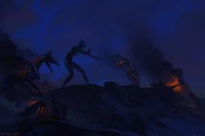 Grim Victory by faliessDragon