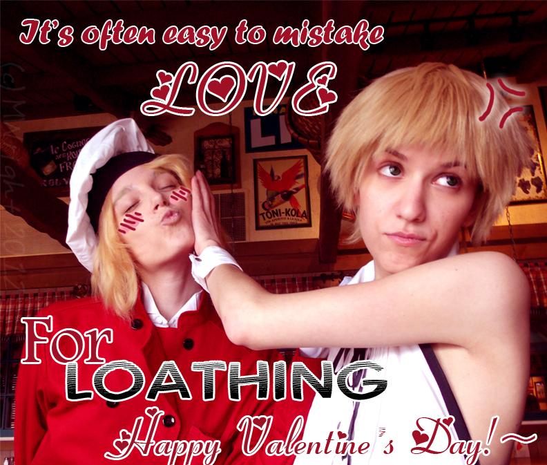 Love or Loathing? by CrimsonFringe
