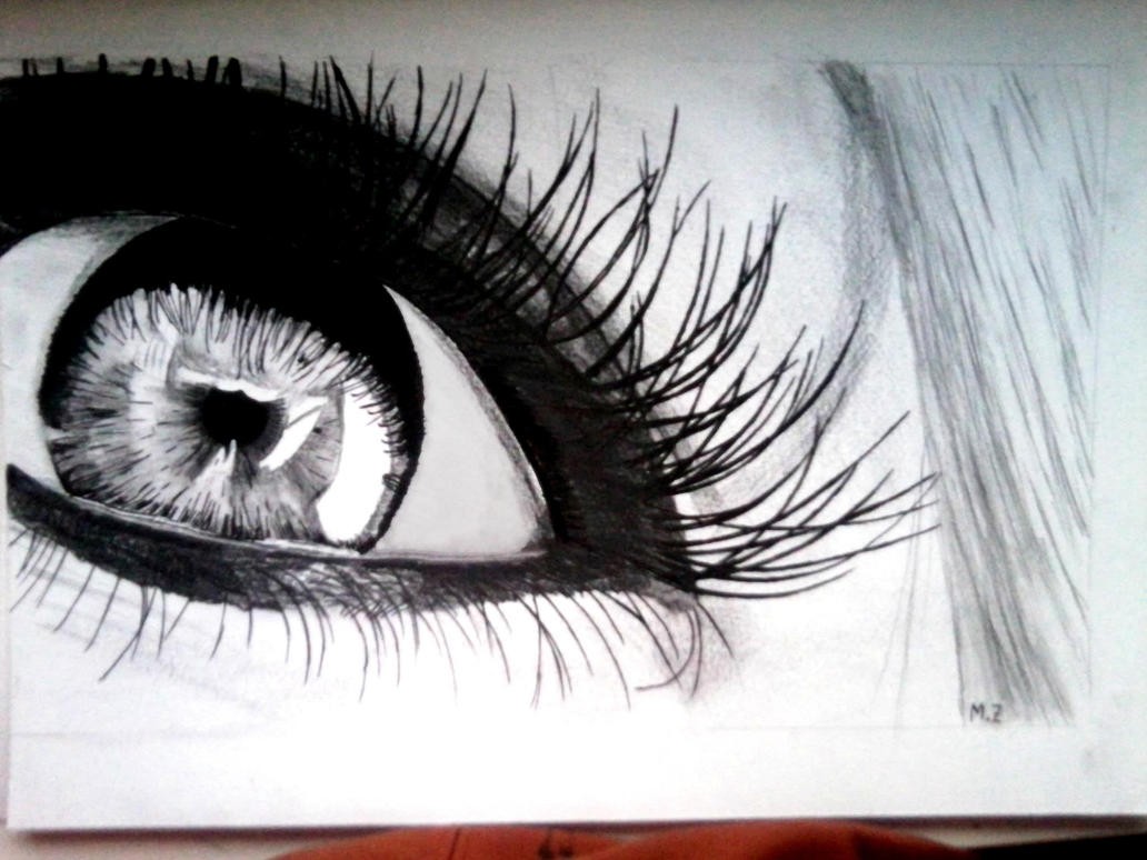 Realistic eye by doktorek by DoktorekPL