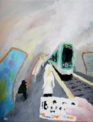 La station
