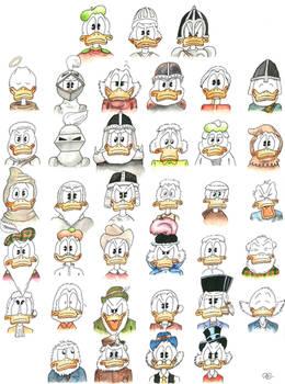 37 (the ancestors of $crooge McDuck)