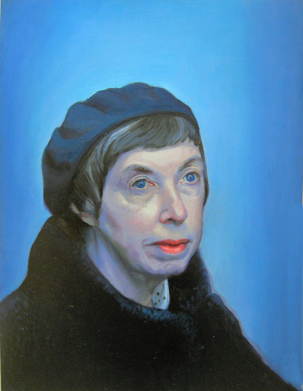 Portrait of Artists Mother by kazanjianm