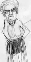 Old Lady Sketch