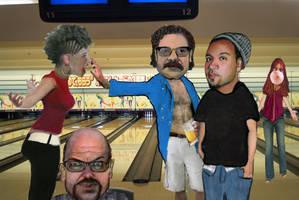 Bowling Alley Brawl by kazanjianm