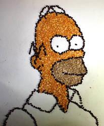 Homer Simpson- Beans by kazanjianm