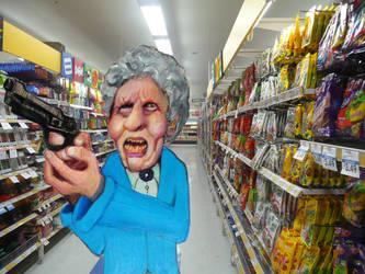 Supermarket stick up by kazanjianm