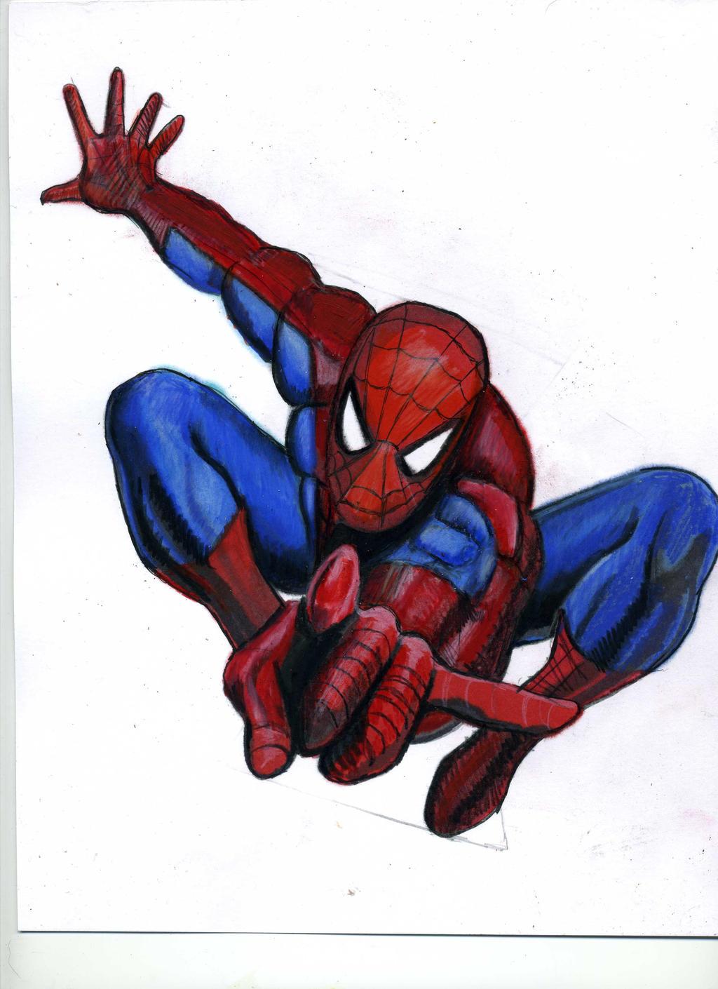 Spiderman Tutorial Image from kazanjianm(YouTube)