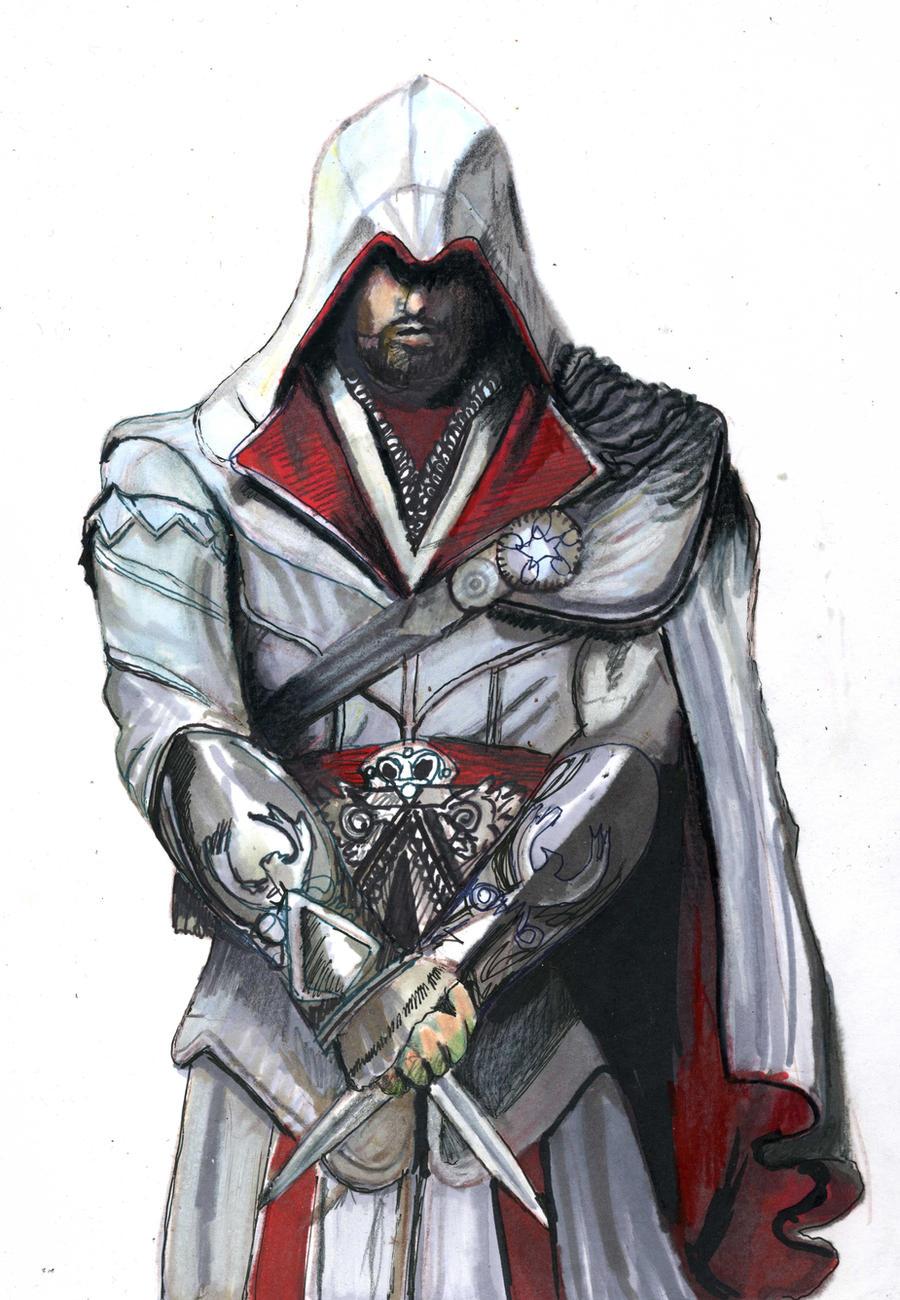 Ezio Auditore Tutorial on kazanjianm (YouTube) by kazanjianm
