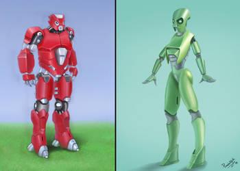 Robots by Luk999