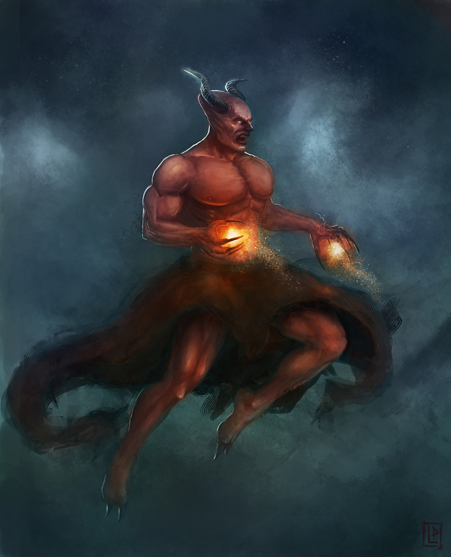 Demon hunting souls by Luk999