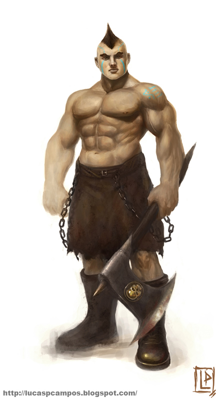 Barbarian assassin by Luk999