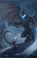 Blue Dragon by Luk999