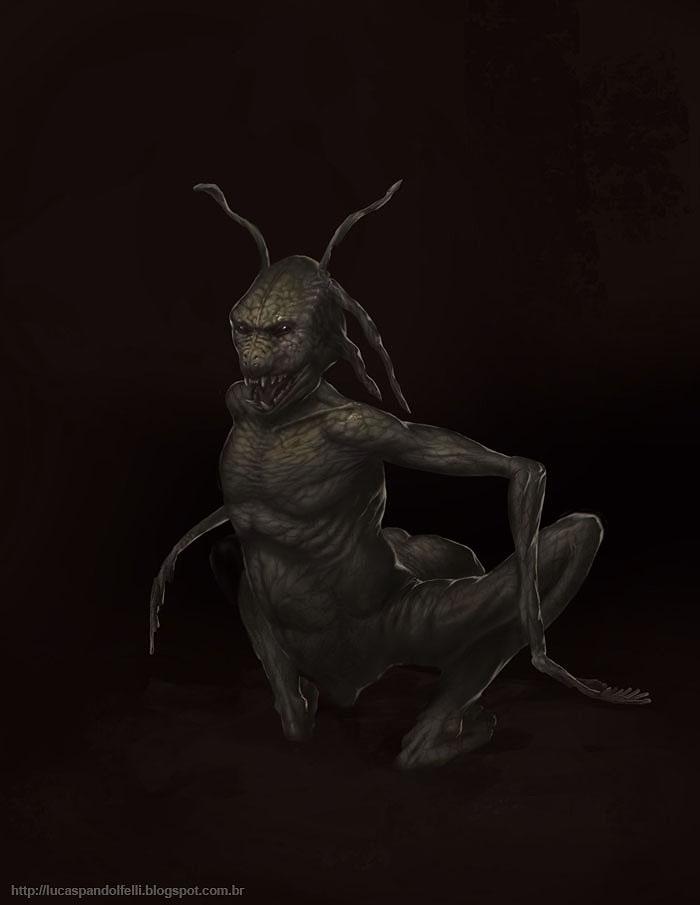Bizarre creature by Luk999