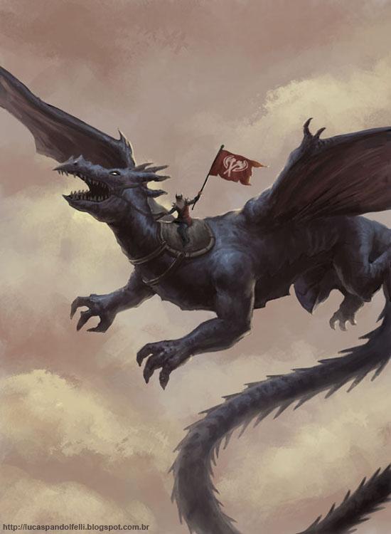 Dragon by Luk999