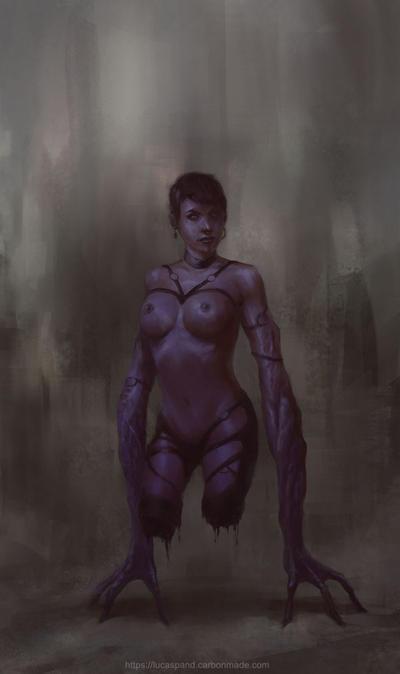 Mutant girl by Luk999