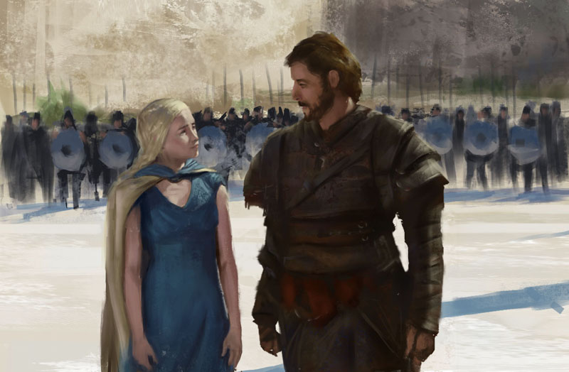 Study game of thrones by Luk999
