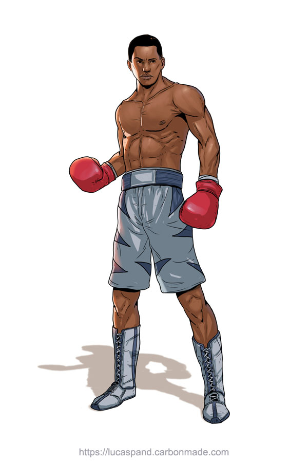 Boxer- Commission by Luk999