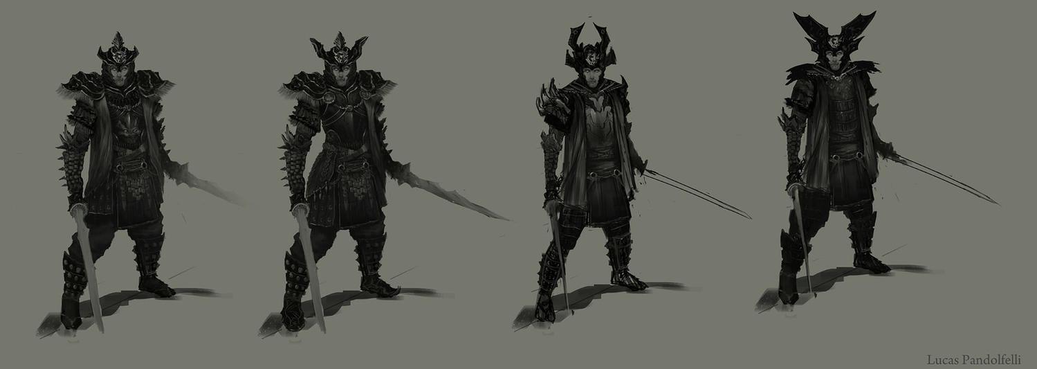Dead Samurai Concepts by Luk999