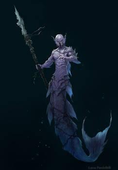Undersea creature - Merman
