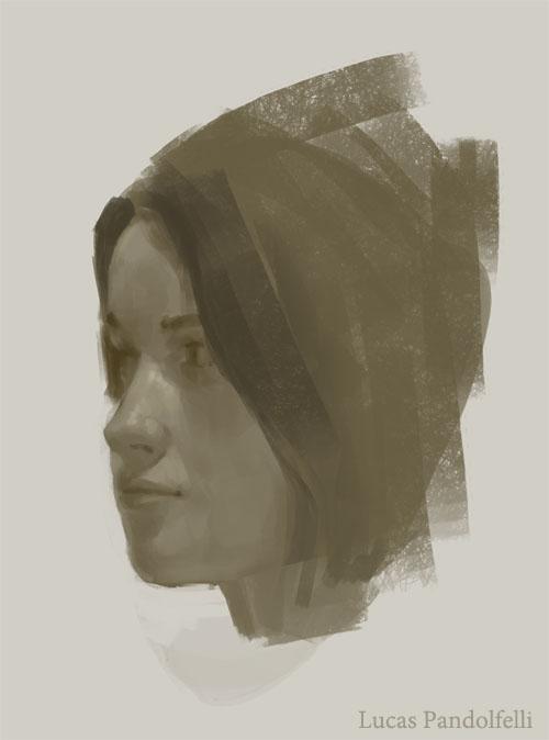 Head Study by Luk999