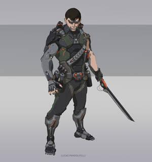 Character Design Sci-fi