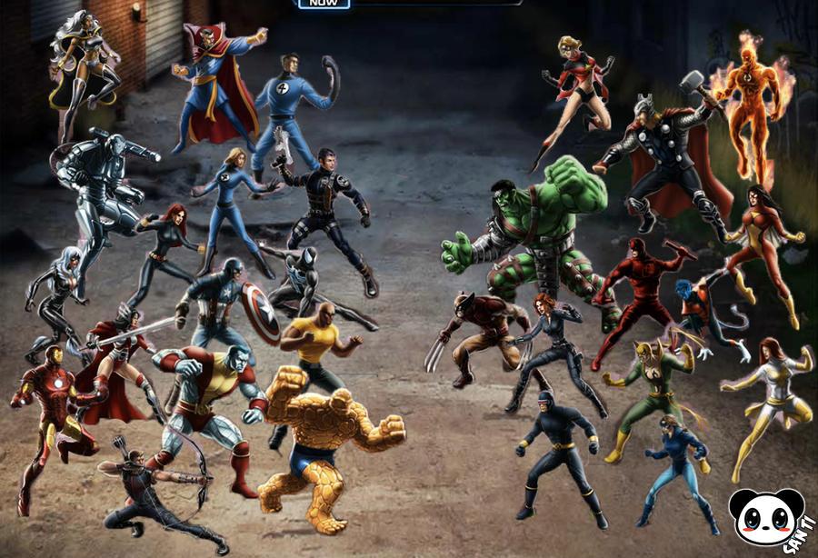 marvel avengers alliance online