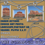 Charm actions and chains, ASL