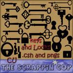 Keys and Locks Custom Shapes