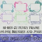 Funky Frame Brushes