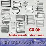 Doodle Journal Shapes