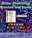 Glitter Brushes and Styles