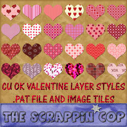 Valentine Styles and Patterns